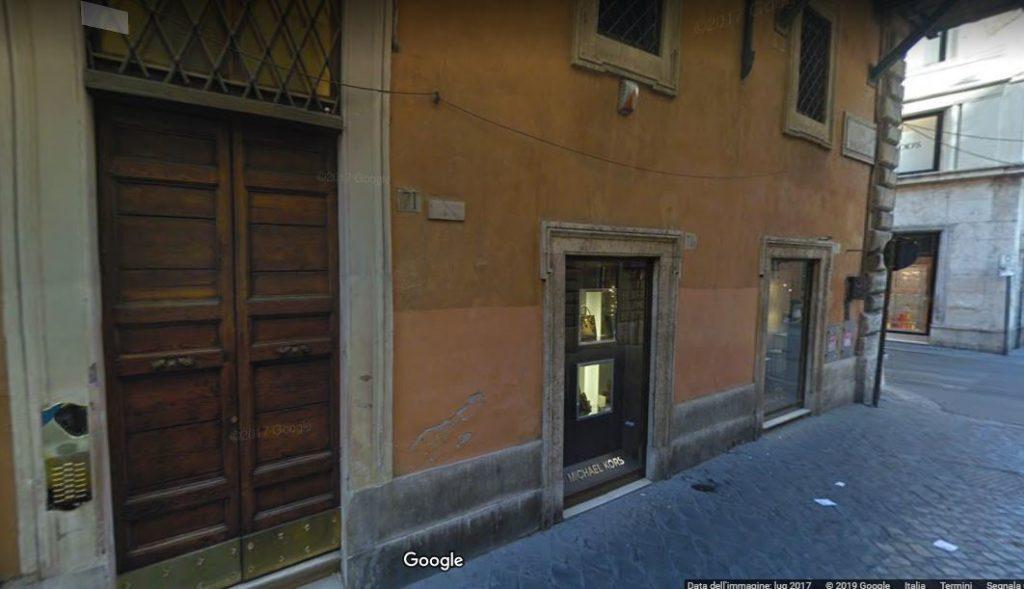 Nuova sede dello Studio Fiori in via Belsiana 71