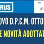 DPCM 24 OTTOBRE: LE NUOVE MISURE PER LOCALI, SPORT E CULTURA